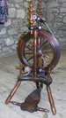 Harry Pouncey spinning wheel 2