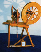 Milson of Scotland spinning wheel