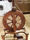 Roger Coltman spinning wheel