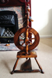 Willie Petrie spinning wheel